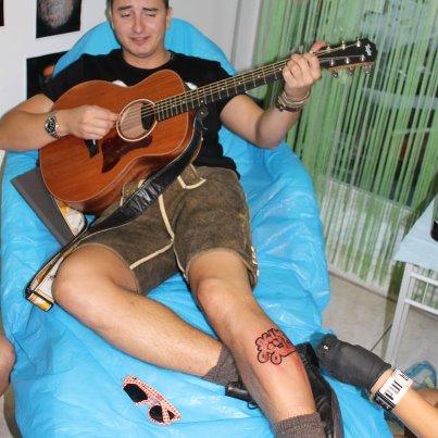 Andreas Gabalier en tattoo